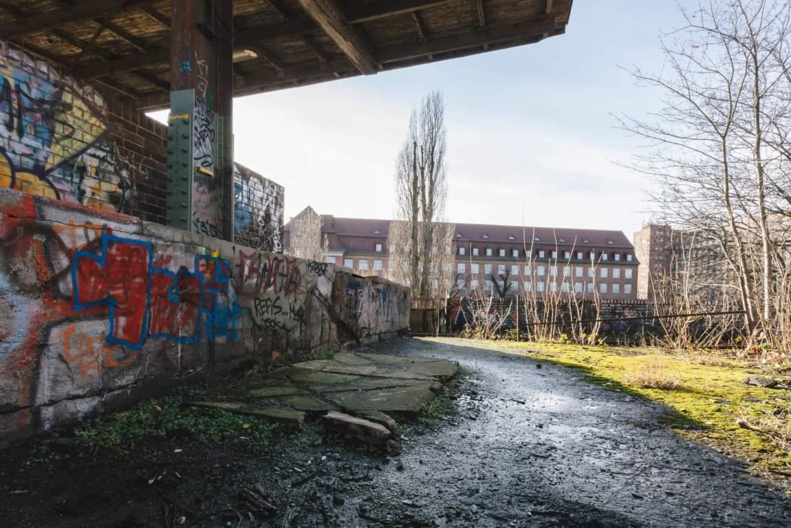 Der Geisterbahnhof von Siemensstadt