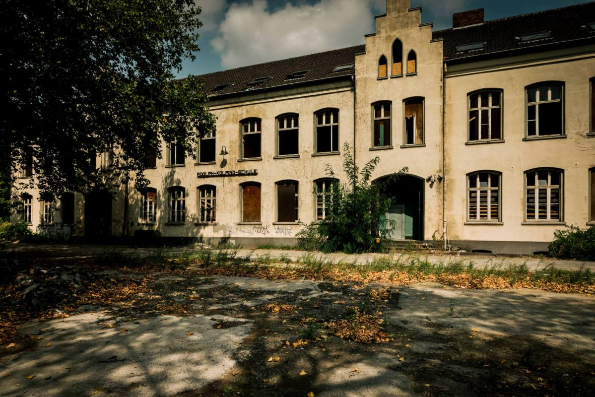 Adolph-Kolping-Schule - Eine verlassene Hauptschule
