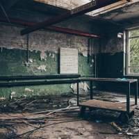 Die verlassene Druckknopf und Metallwaren-Fabrik in Wuppertal