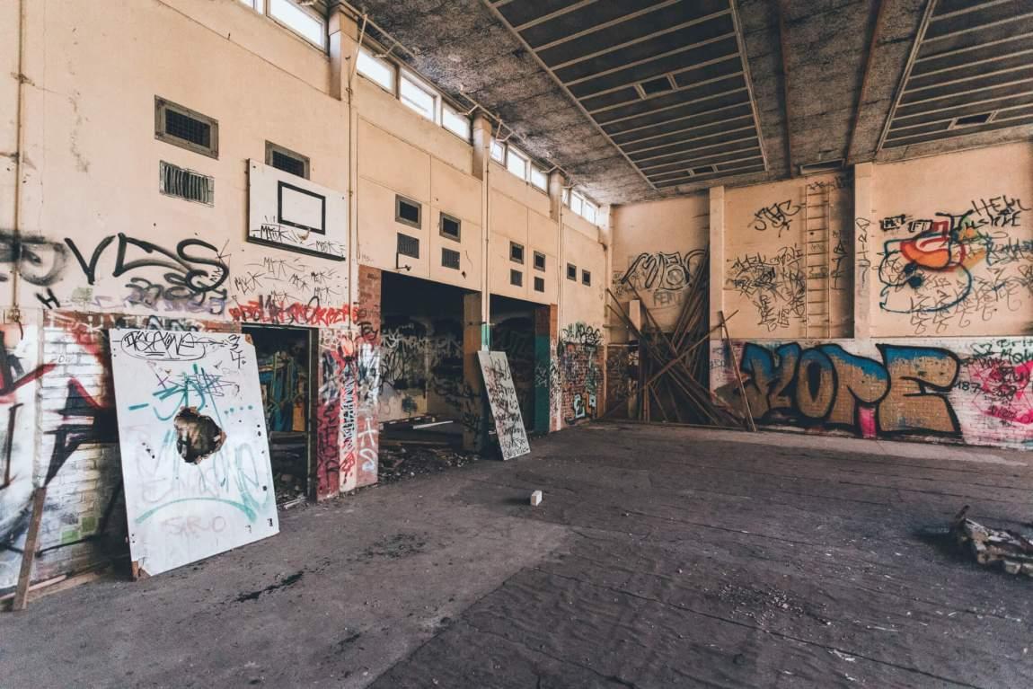 Das verlassene Oberstufenzentrum Eberswalde