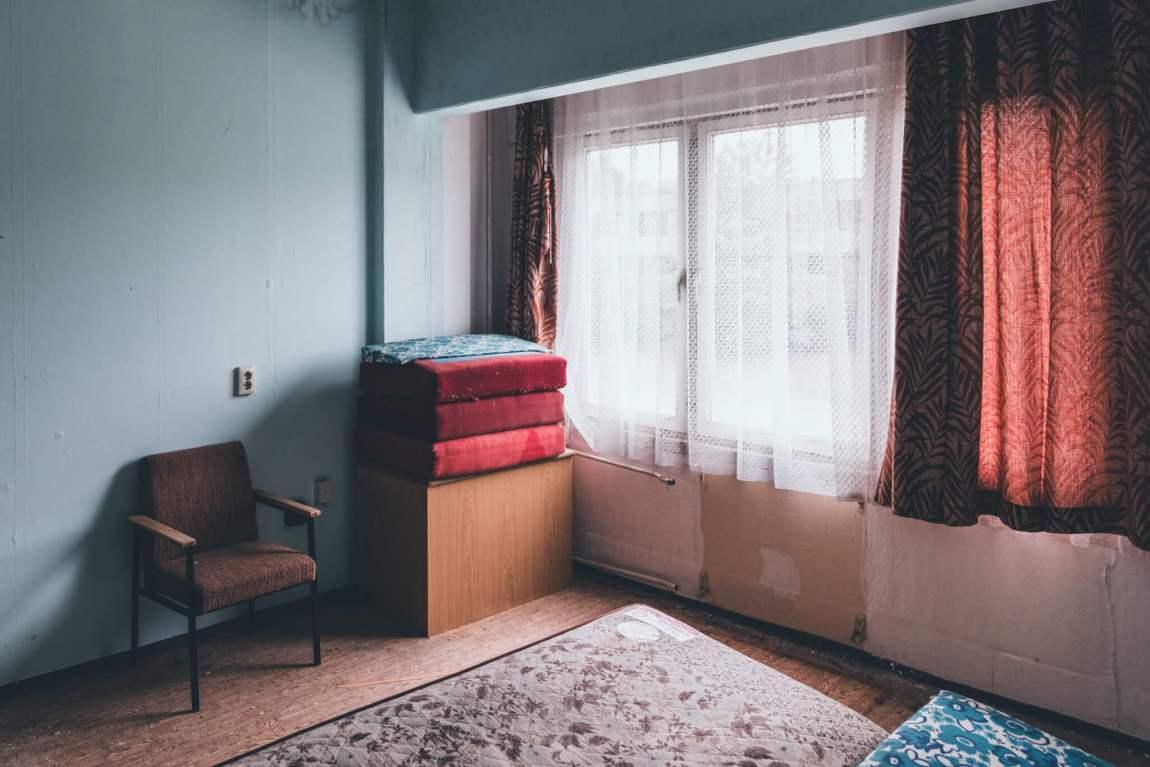 Das Gelände des Honecker Bunker - Komplex 5000