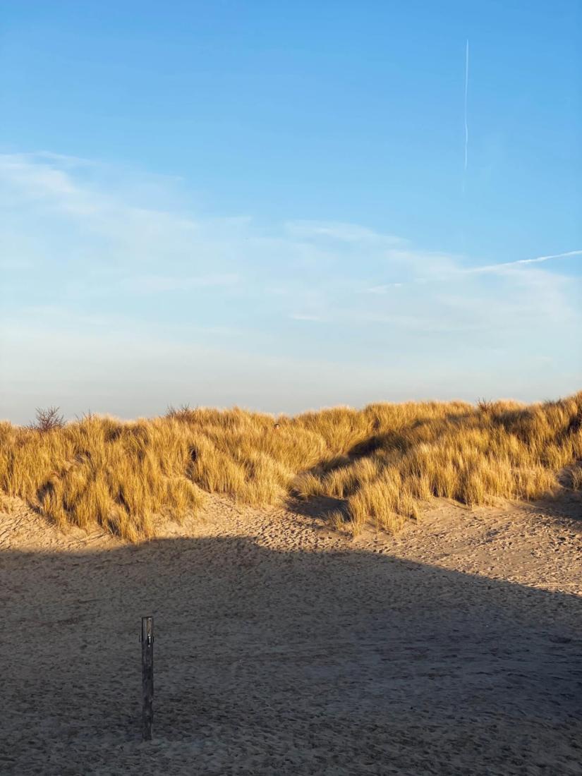 Strand und Wintersonne