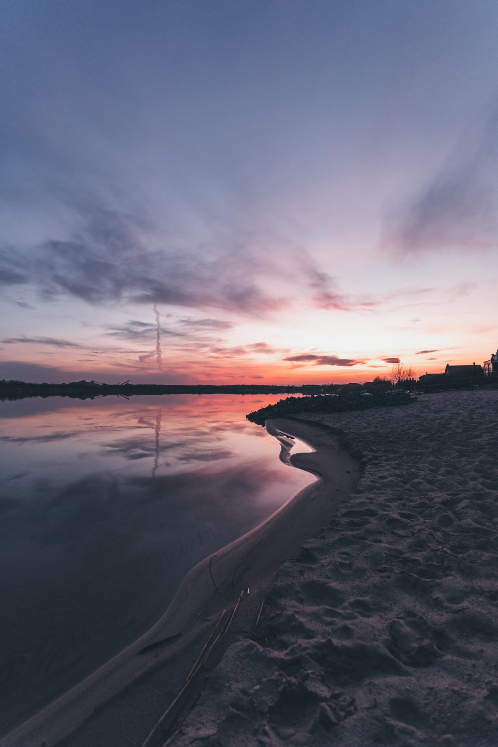 Sonnenaufgang über dem Mühlfeldsee