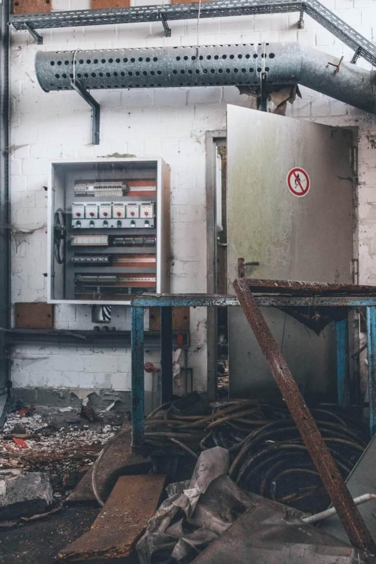 Das geheime Sprengstoffversuchslabor