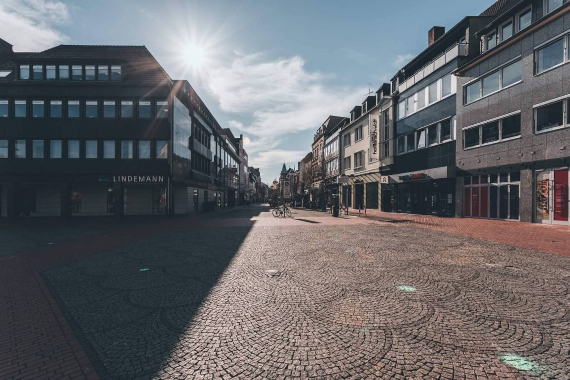 Streets of Corona: Hammer Innenstadt