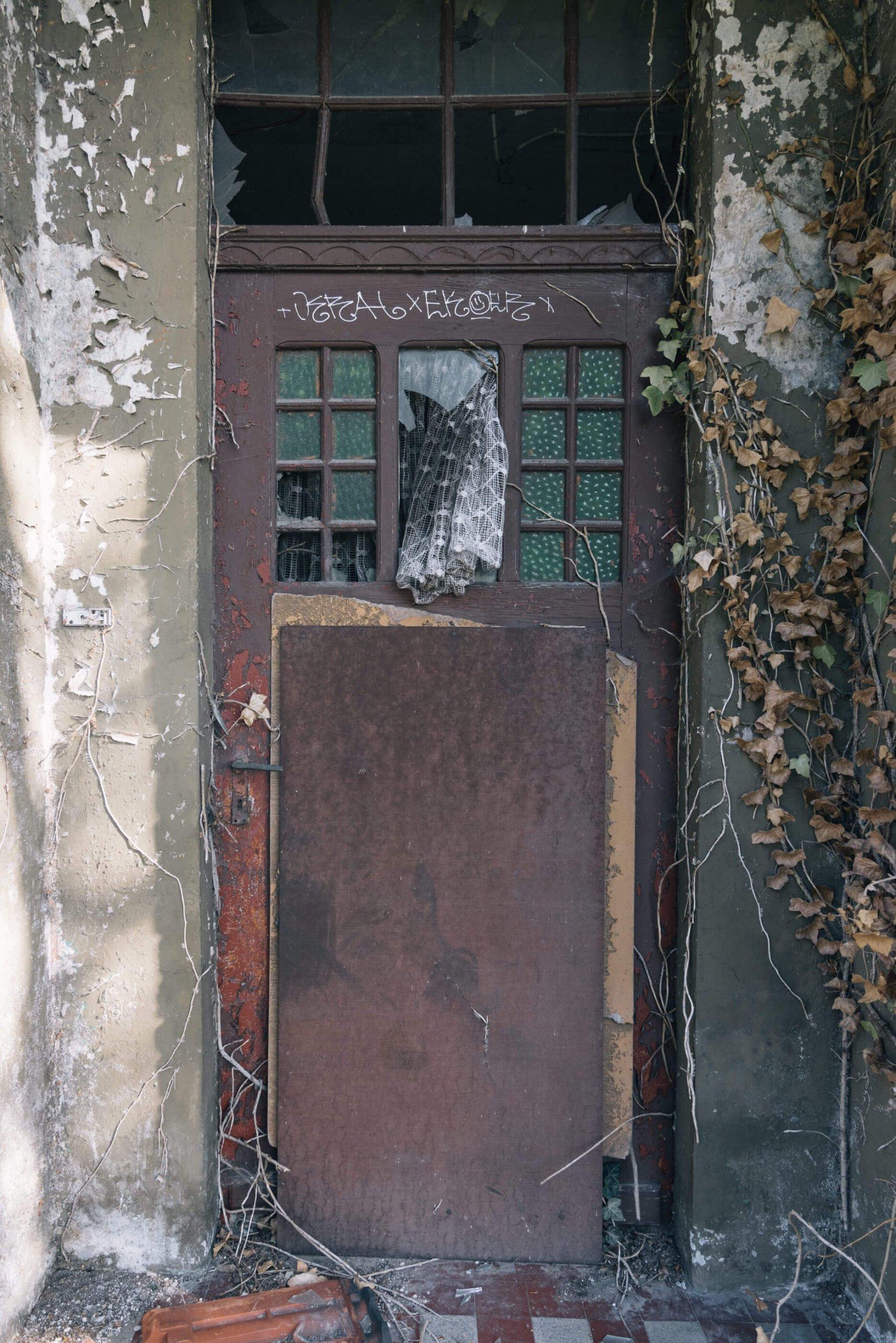 Das alte Wohnhaus am Ortsrand