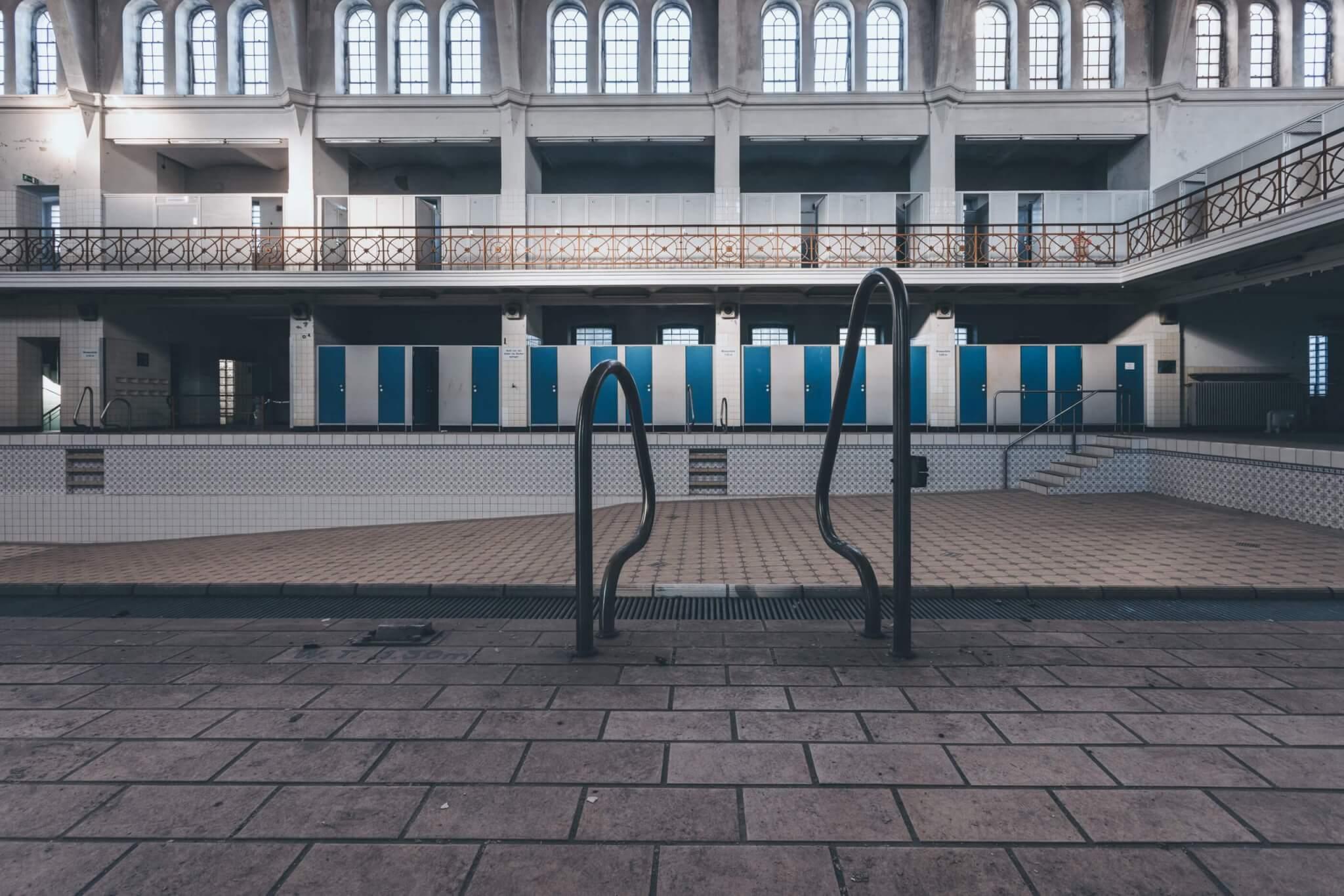 Das alte Stadtbad in Krefeld