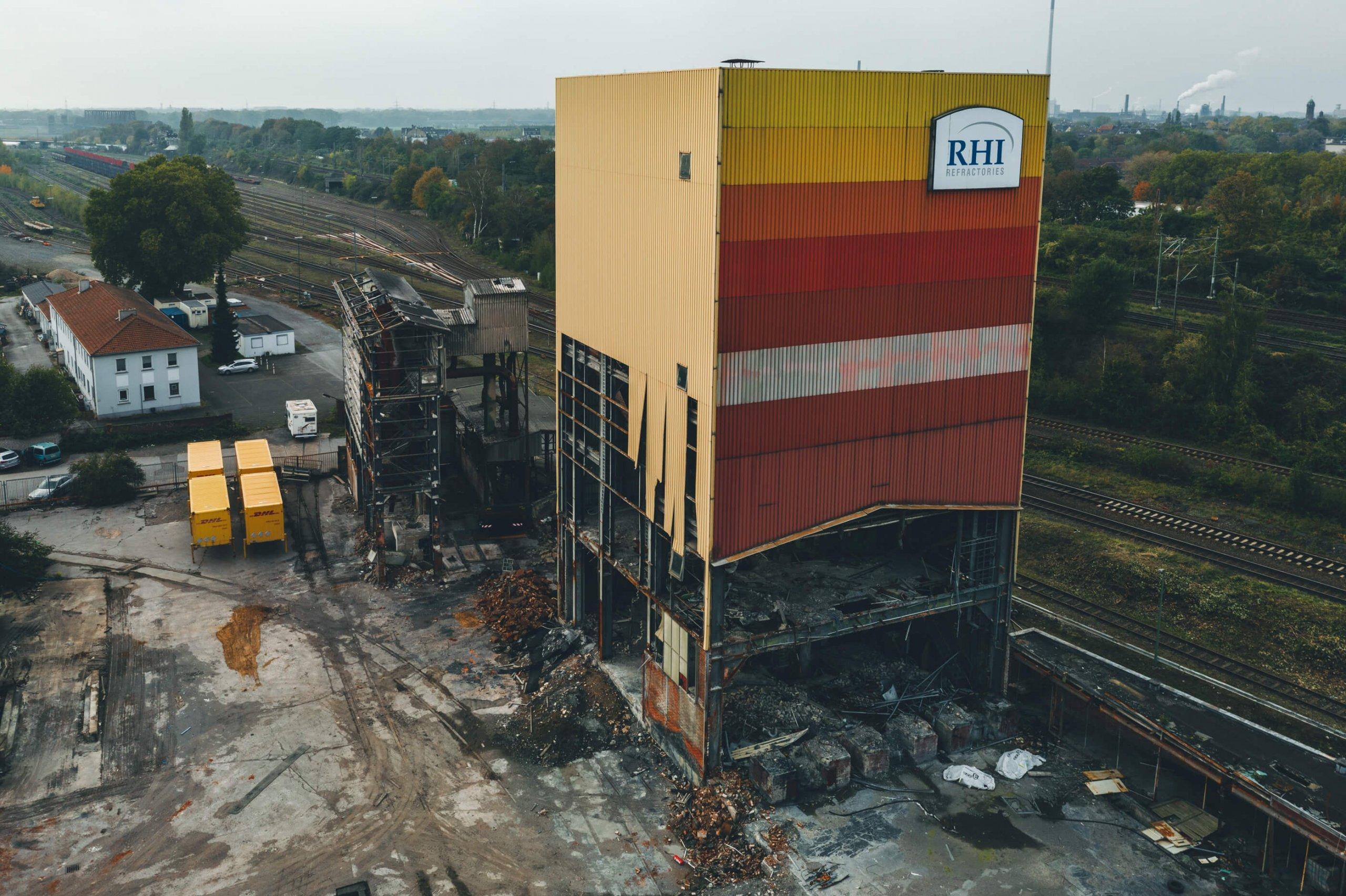 Altes Didier Werk in Duisburg
