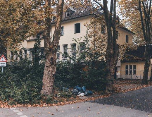 Die gelbe Villa in Recklinghausen