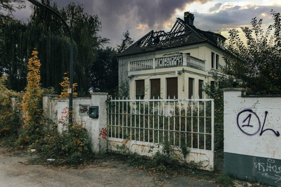 Ausgebranntes Bordell Recklinghausen