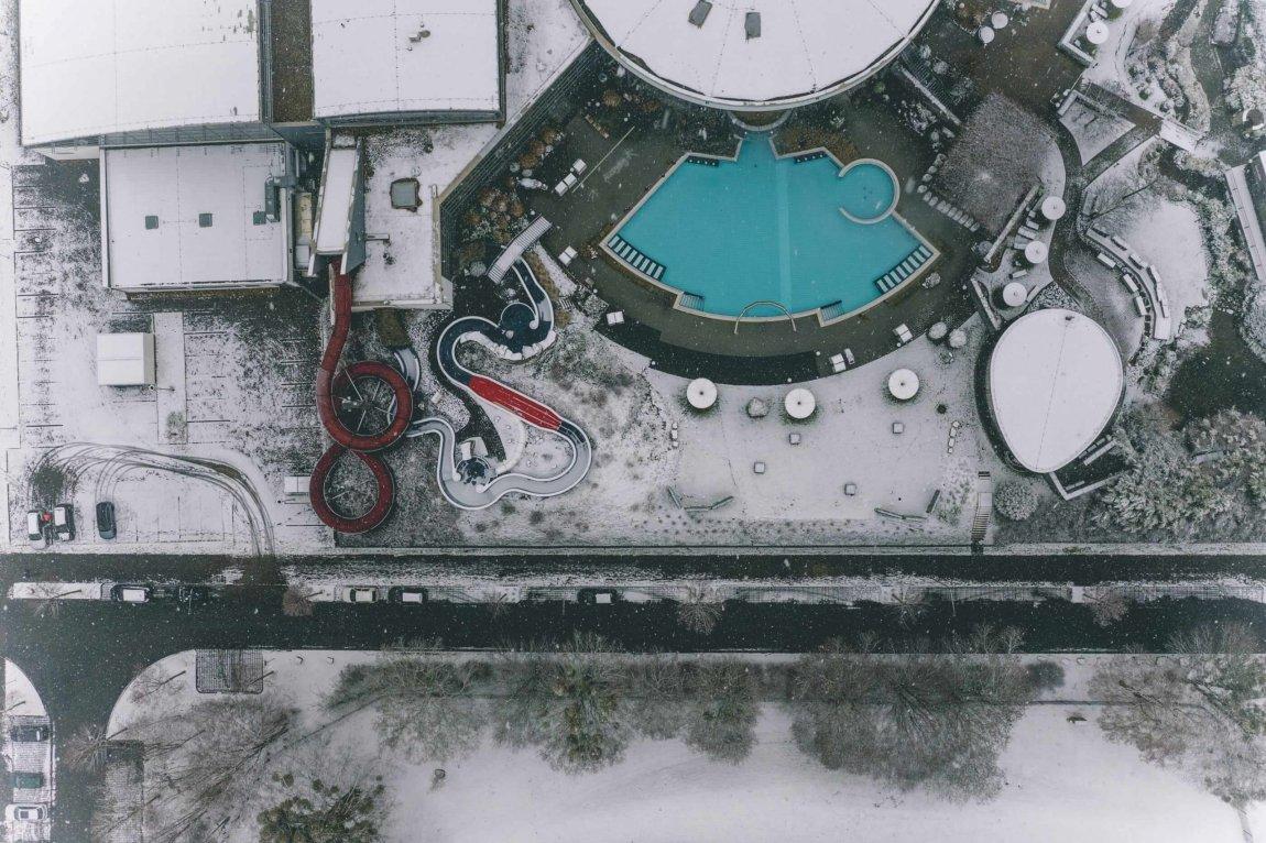 Schneeflug ohne Schneepflug