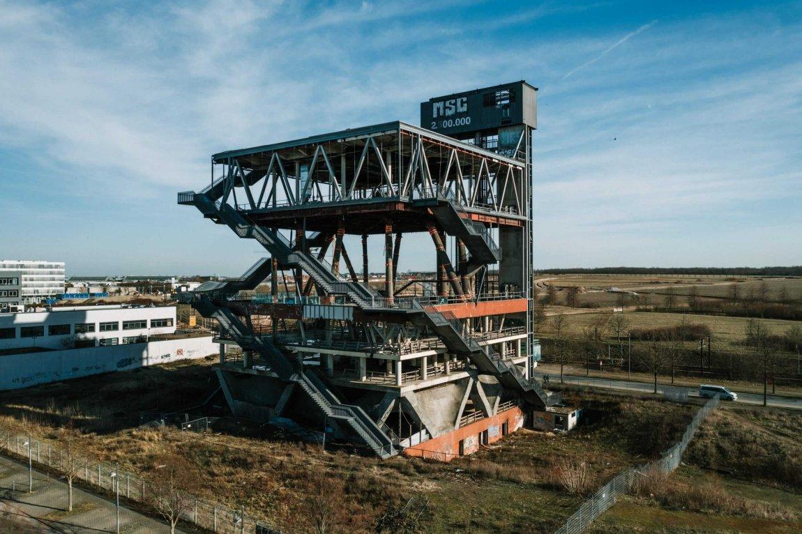 Der alte holländische Pavillon - EXPO 2000