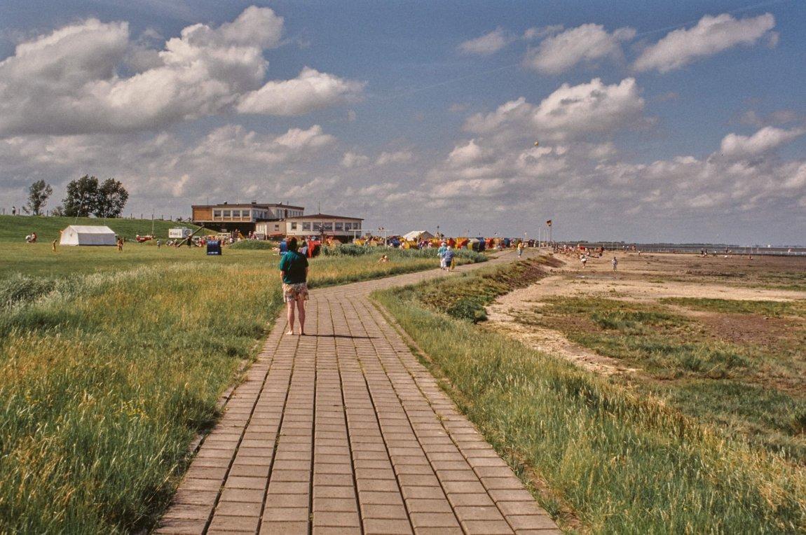 Von früher: Nordseebad Fedderwardersiel 1991