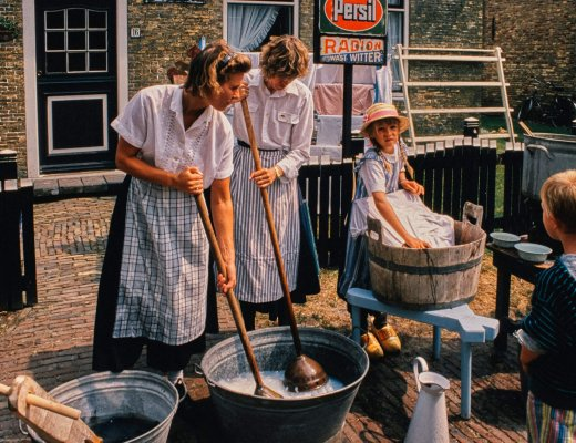 Von früher: Ambachtelijke Dag Ballum 1992