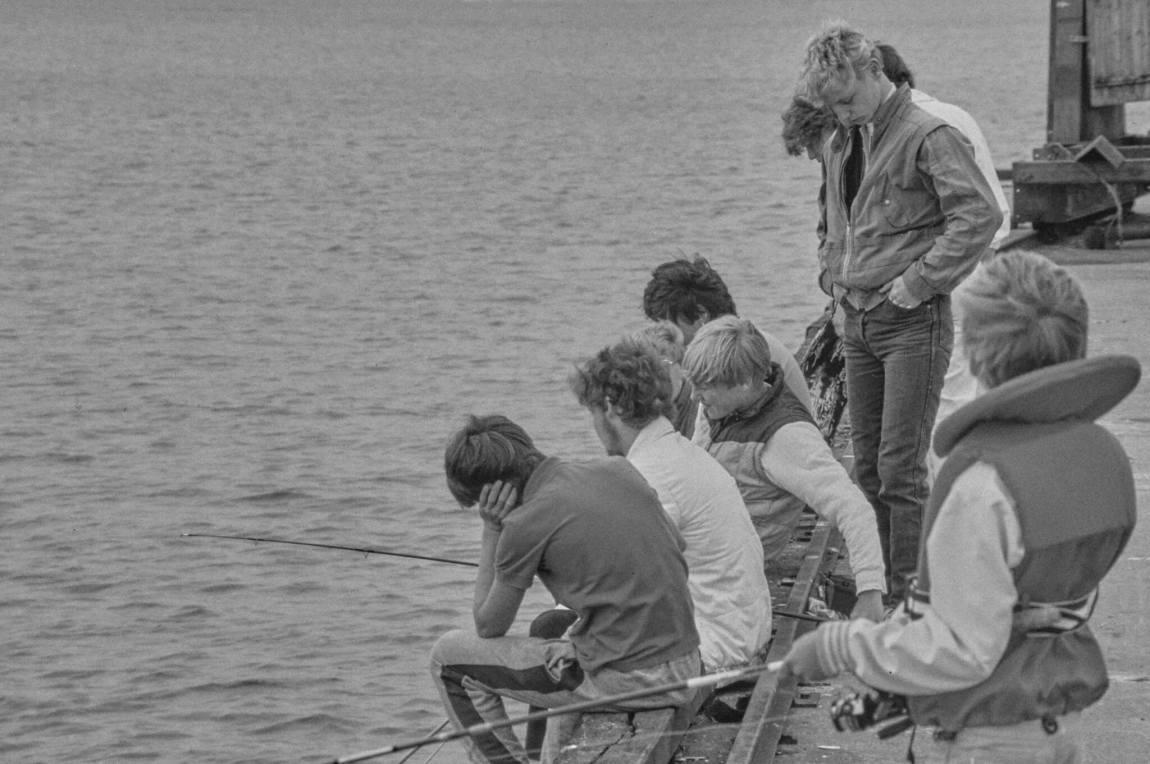 Von früher: Menschen in den 1980er Jahren