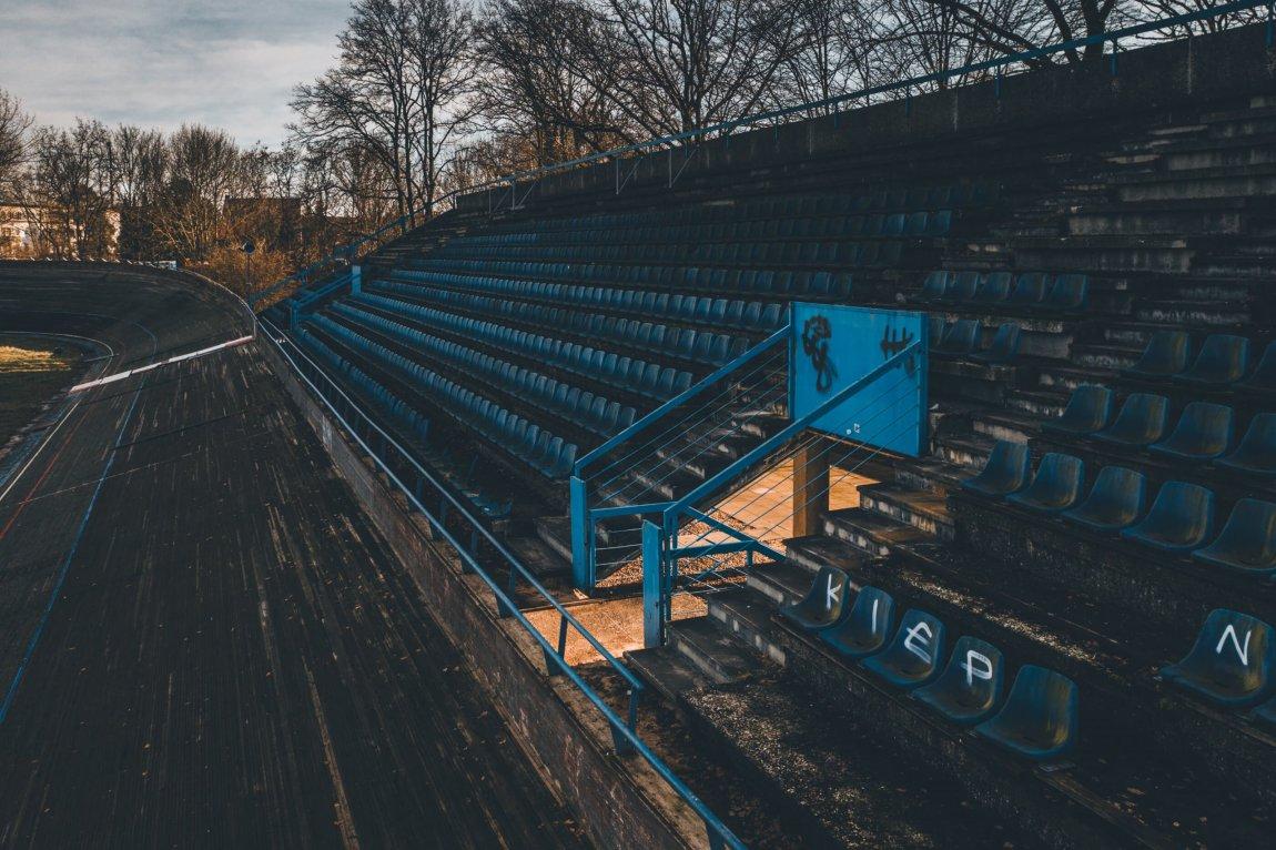 Die verlassene Radrennbahn