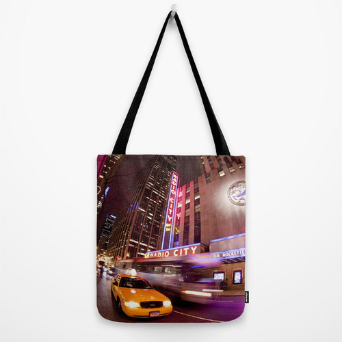 Stylish Tote Bags with all over photographic print.