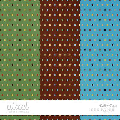 Freebie \\ Paper \\ Polka Dots