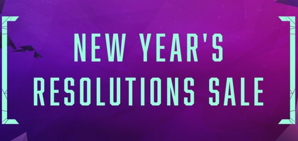 New Year's Resolution Sale on GOG