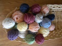 Blanket frogged - yarn ready