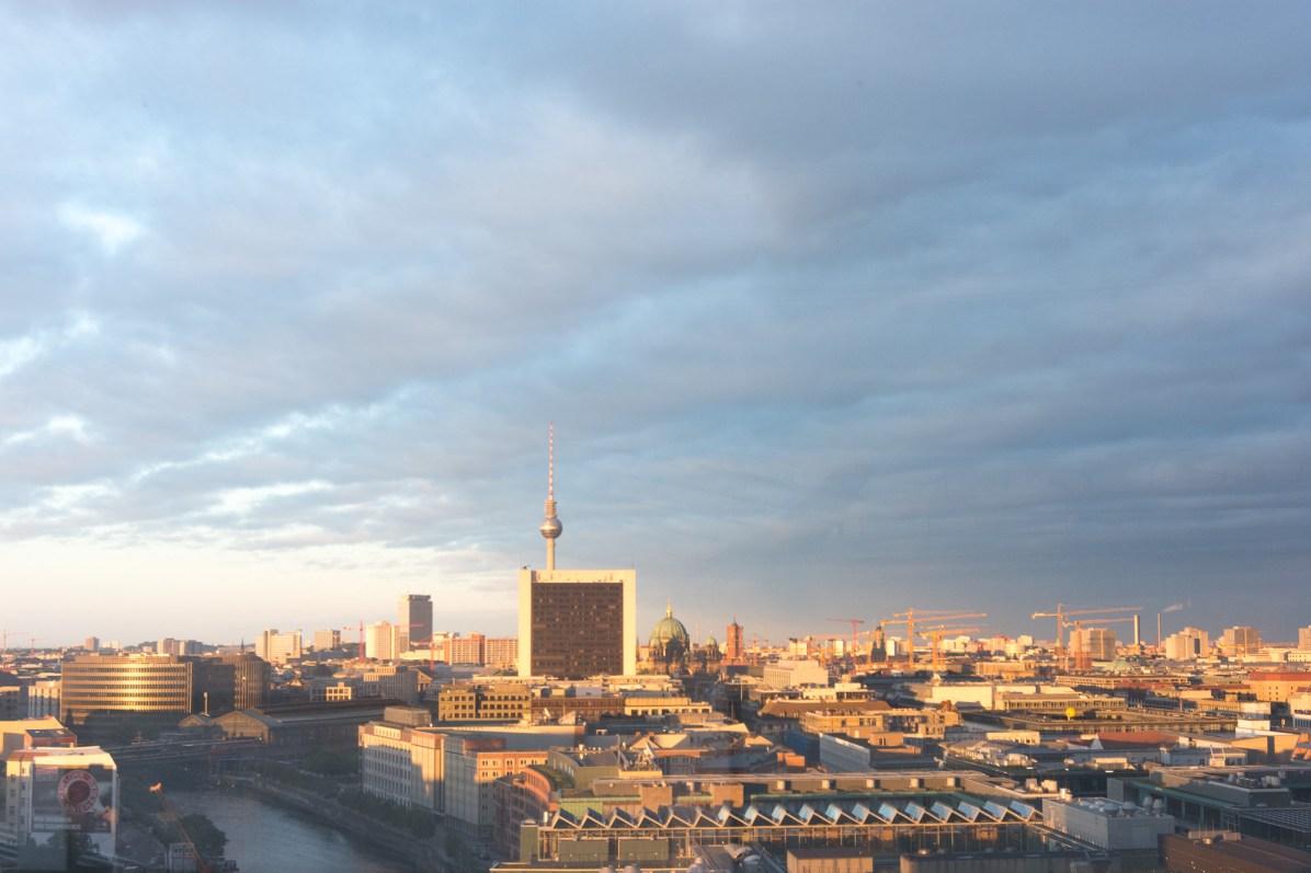 Blick vom Reichstag - Abendsonne