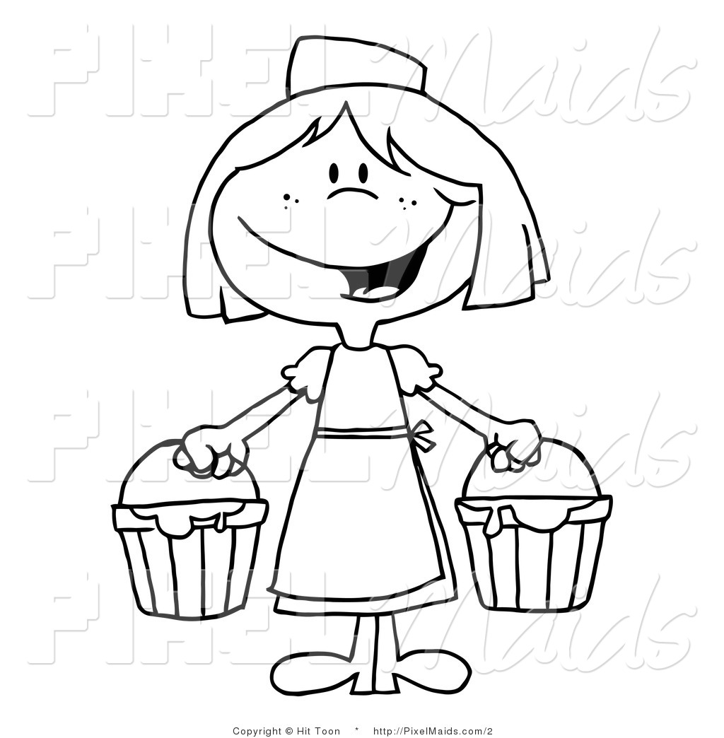 Royalty Free Woman Stock Maid Designs