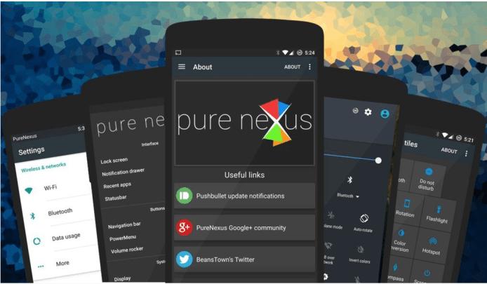 Pure Nexus Custom Rom for Google Pixel.