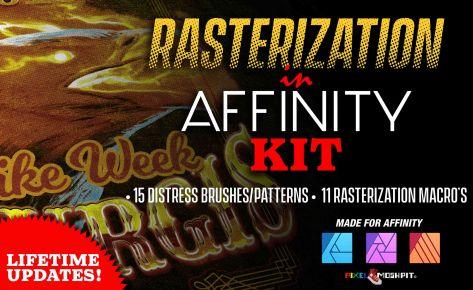 Rasterization Kit (Affinity Photo)