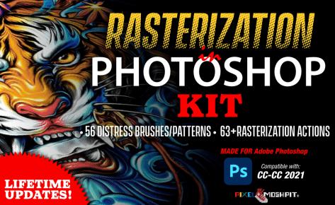 Rasterization Kit (Photoshop)
