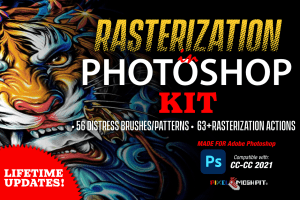 Photoshop Rasterization Kit