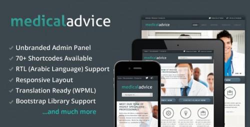 21_Medical Advice - Responsive WordPress Theme