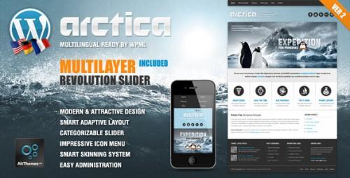 39_Arctica Responsive WordPress Theme