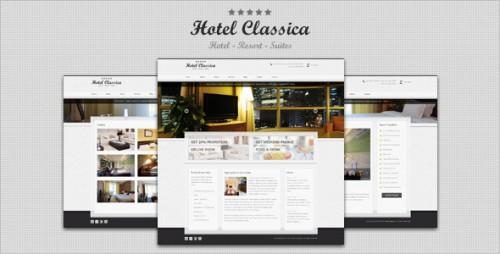 45_Hotel Classica - Clean Minimalist WordPress Theme