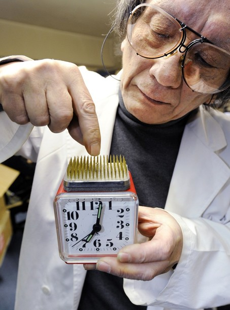 chindogu best inventions unuseless alarm clock