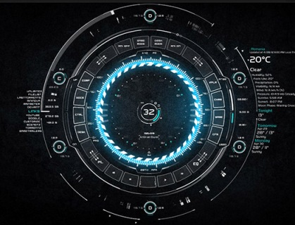 Hi-Tech, Future, Sci-Fi, Mega Gadgets, Intergalactic, Movies & Games Inspired Rainmeter Skins