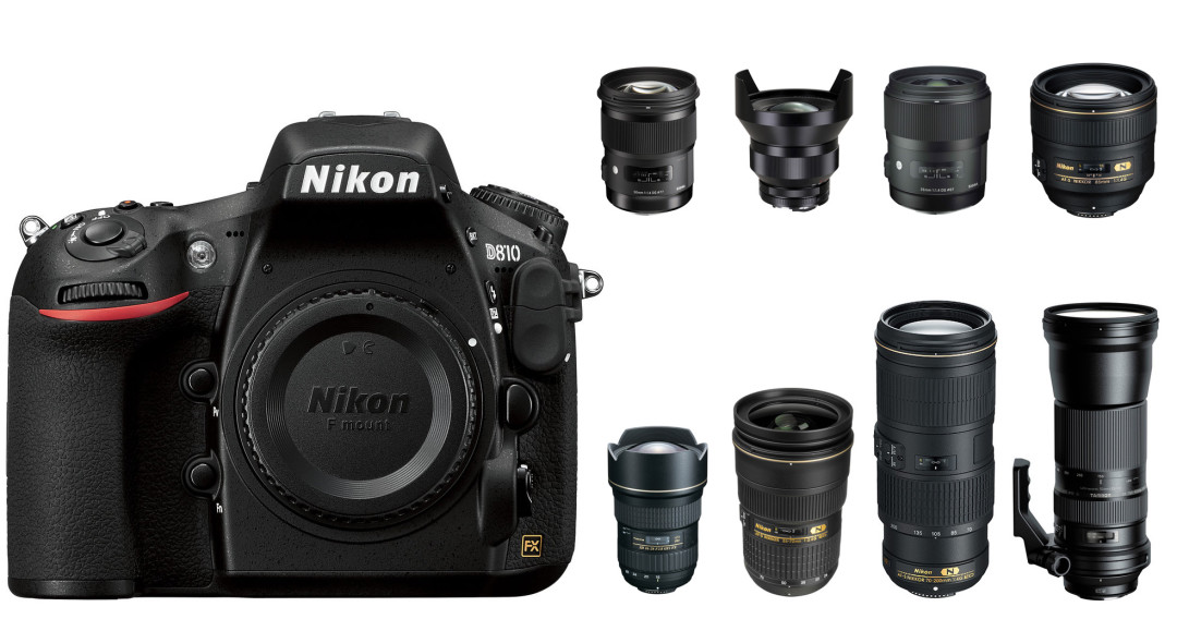 Top Recommended Lenses for Nikon D810 and D850