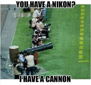 canon vs nikon dslr