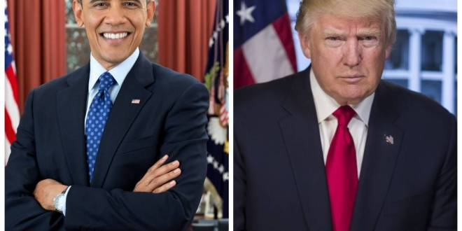 Official Portrait of Trump Shot on Older Camera than Obama