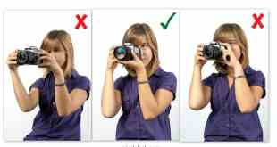DSLR Tips on How to Hold the Camera Properly