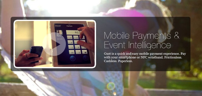 Gust pay, mobile payments and event intelligence