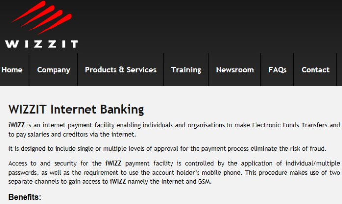Wizzit, banking services for all