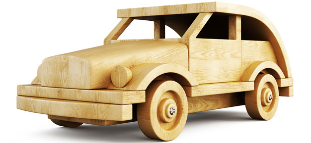 A Car Made Out of Wood, Future Technology?