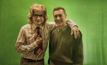 Jack with Stuart Horobin