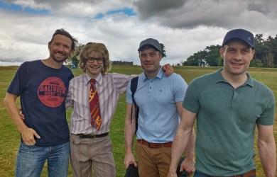 Producer Nigel Martin Davey, Jack Lane, Director Dominic Higgins and Director Ian Higgins