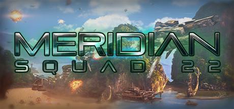Meridian Squad 22 Logo