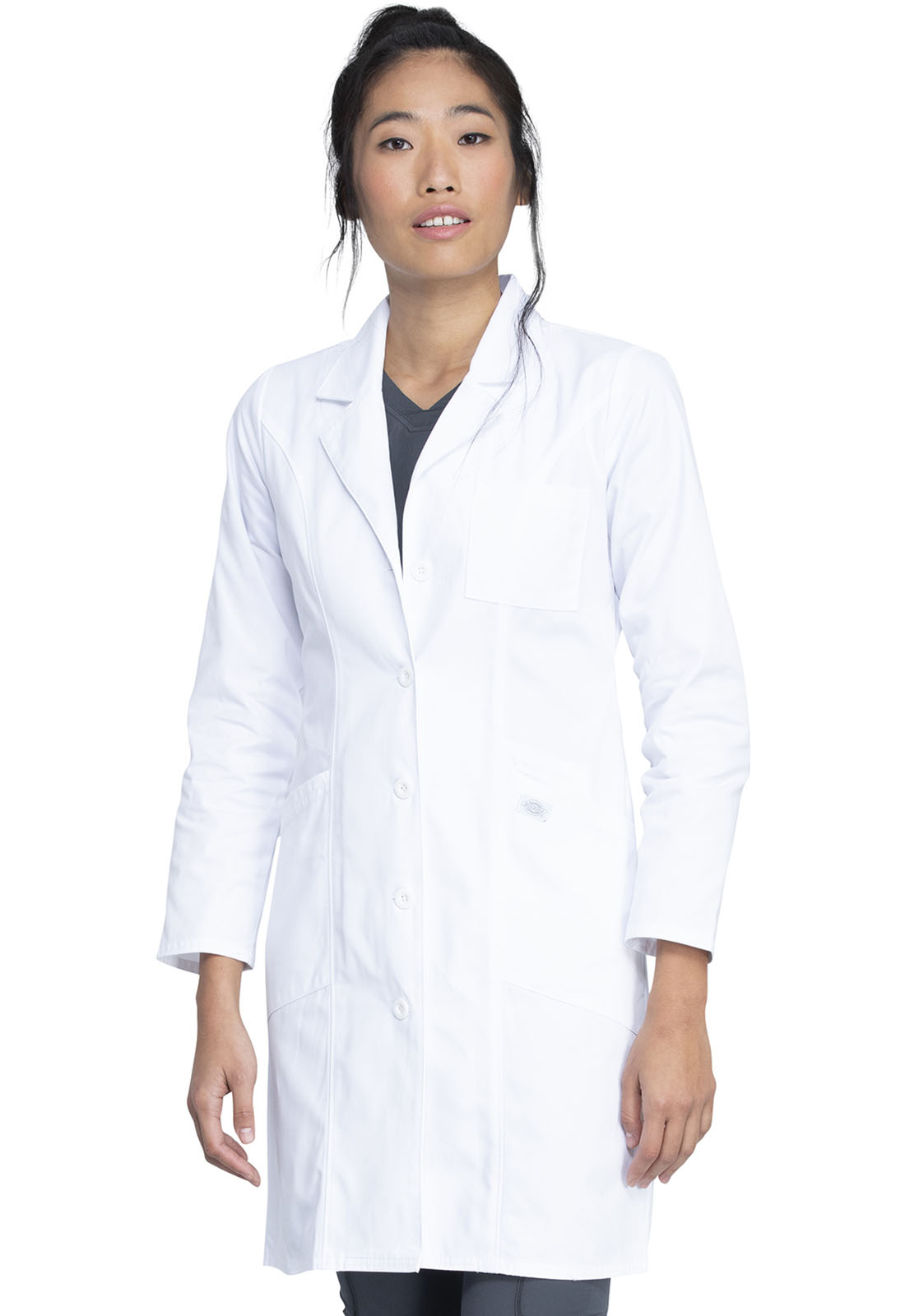 Dickies Professional Whites 37 Lab Coat In White From