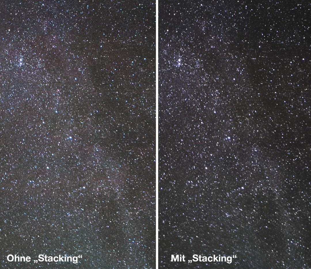 Vergleich Stacking