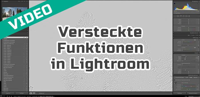 Versteckte Funktionen in Lightroom (Alt-Taste)