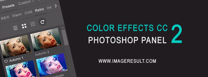 Photoshop-Panel Color Effects CC 2 – Premium-Farblooks und vieles mehr