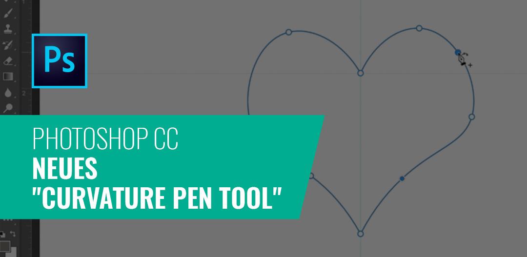 """Neues """"Curvature Pen Tool"""" in der nächsten Version von Photoshop CC"""